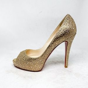 Louboutin Very Prive Custom Strass